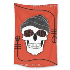 Poster Twenty One Pilots Skull Large Tapestry