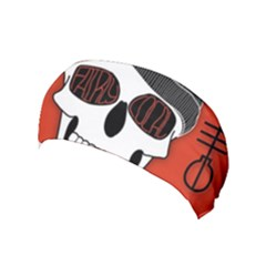 Poster Twenty One Pilots Skull Yoga Headband