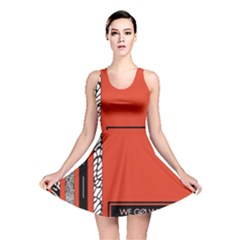 Poster Twenty One Pilots We Go Where We Want To Reversible Skater Dress