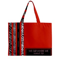 Poster Twenty One Pilots We Go Where We Want To Zipper Mini Tote Bag