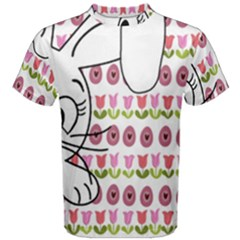Easter bunny  Men s Cotton Tee
