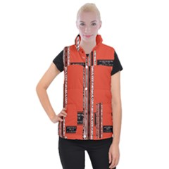 Poster Twenty One Pilots We Go Where We Want To Women s Button Up Puffer Vest
