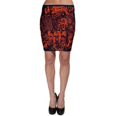 Ed Sheeran Bodycon Skirt