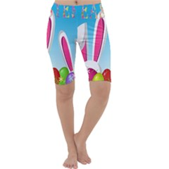 Easter bunny  Cropped Leggings