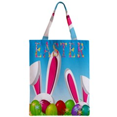 Easter bunny  Zipper Classic Tote Bag