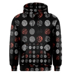 Digital Art Dark Pattern Abstract Orange Black White Twenty One Pilots Men s Pullover Hoodie
