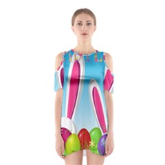 Easter bunny  Shoulder Cutout One Piece