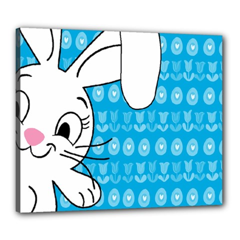 Easter bunny  Canvas 24  x 20