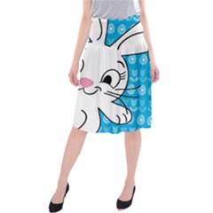 Easter Bunny  Midi Beach Skirt