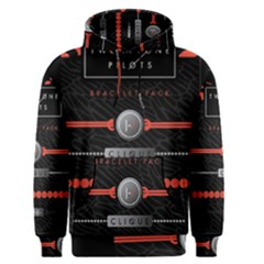 Twenty One Pilots Event Poster Men s Pullover Hoodie