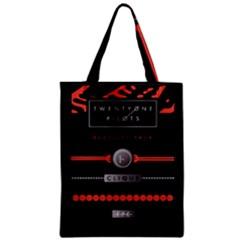 Twenty One Pilots Event Poster Zipper Classic Tote Bag