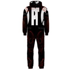 Twenty One Pilots Event Poster Hooded Jumpsuit (Men)