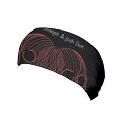 Twenty One Pilots Event Poster Yoga Headband