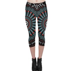 Twenty One Pilots Capri Leggings