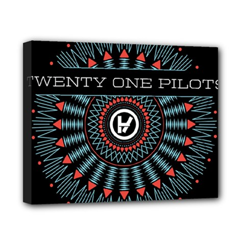 Twenty One Pilots Canvas 10  x 8