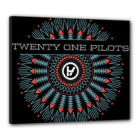 Twenty One Pilots Canvas 24  x 20