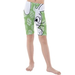 Easter bunny  Kids  Mid Length Swim Shorts