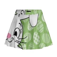 Easter bunny  Mini Flare Skirt