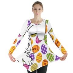 Easter bunny  Long Sleeve Tunic