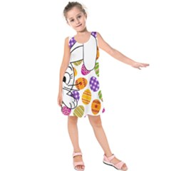 Easter bunny  Kids  Sleeveless Dress