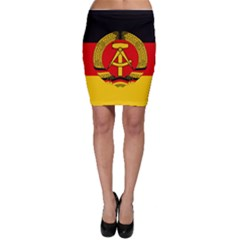 Flag of East Germany Bodycon Skirt