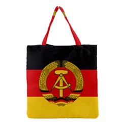 Flag of East Germany Grocery Tote Bag