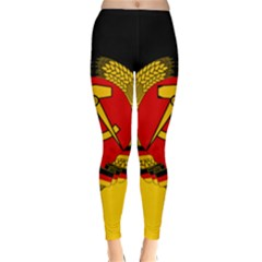 Flag of East Germany Classic Winter Leggings