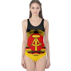 Flag of East Germany One Piece Swimsuit