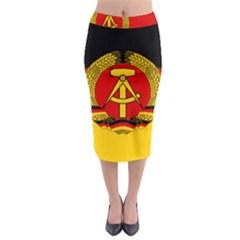 Flag of East Germany Midi Pencil Skirt