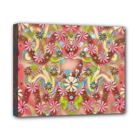 Jungle Life And Paradise Apples Canvas 10  x 8