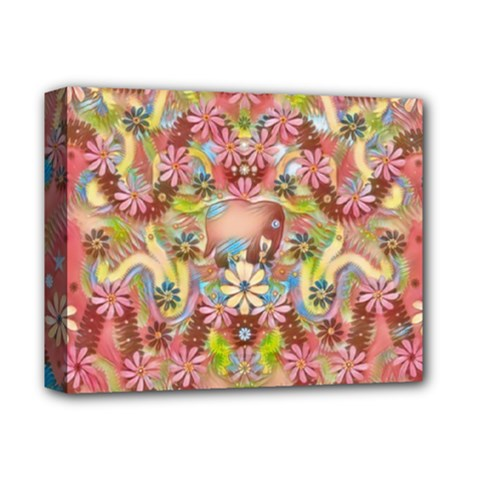 Jungle Life And Paradise Apples Deluxe Canvas 14  X 11