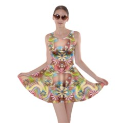 Jungle Life And Paradise Apples Skater Dress