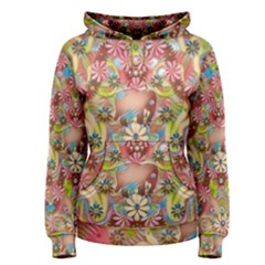Jungle Life And Paradise Apples Women s Pullover Hoodie