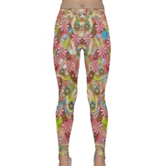 Jungle Life And Paradise Apples Classic Yoga Leggings