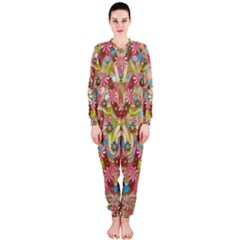 Jungle Life And Paradise Apples OnePiece Jumpsuit (Ladies)