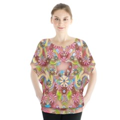 Jungle Life And Paradise Apples Blouse