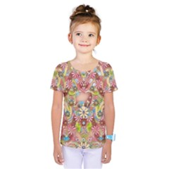 Jungle Life And Paradise Apples Kids  One Piece Tee