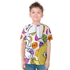 Easter bunny and chick  Kids  Cotton Tee