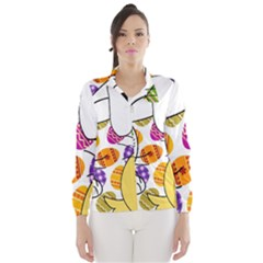 Easter bunny and chick  Wind Breaker (Women)