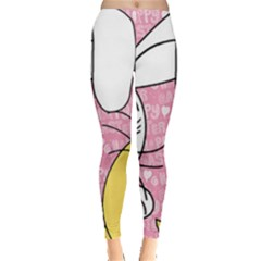 Easter bunny and chick  Leggings