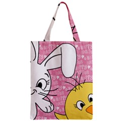 Easter bunny and chick  Classic Tote Bag