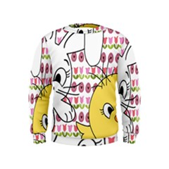 Easter bunny and chick  Kids  Sweatshirt