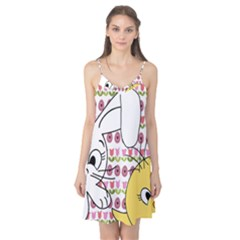 Easter bunny and chick  Camis Nightgown