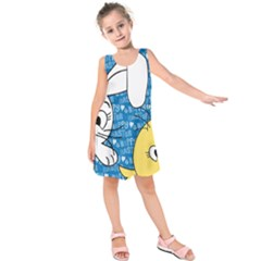 Easter bunny and chick  Kids  Sleeveless Dress
