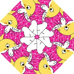 Easter bunny and chick  Golf Umbrellas