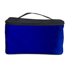 Blue Wallpaper With Rainbow Cosmetic Storage Case