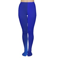 Blue Wallpaper With Rainbow Women s Tights
