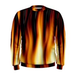 Dark Flame Pattern Men s Sweatshirt