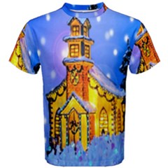 Winter Church Men s Cotton Tee