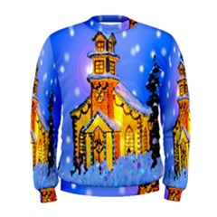 Winter Church Men s Sweatshirt
